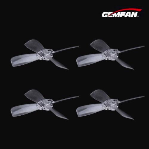 8 Pcs Gemfan 2035BN 2 inch 4-Blade High Efficiency Propeller Transparent