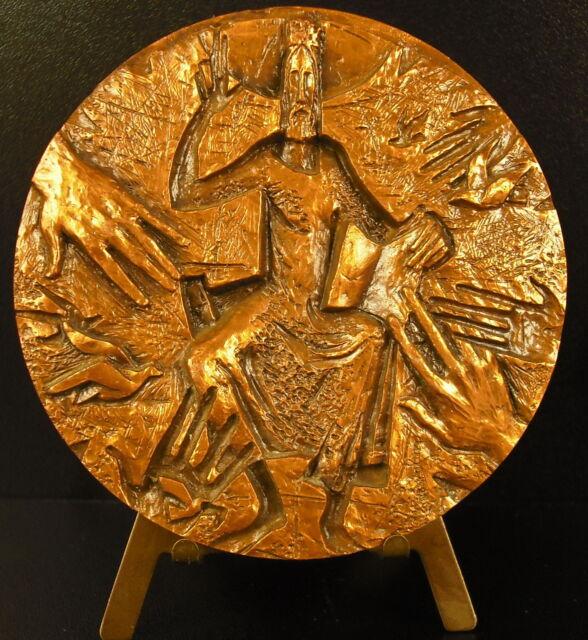 Medalla religiosa sagrado corazón de Jesús Cristo religiosa sacred heart medal
