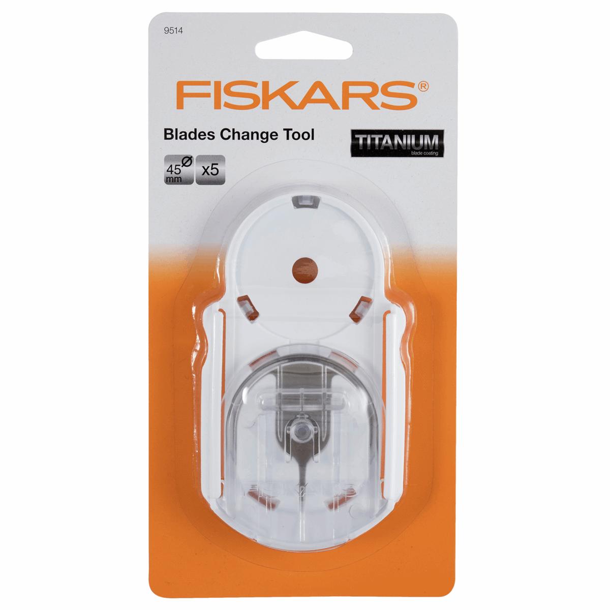 Fiskars Titanium No Touch Blade Changing Tool