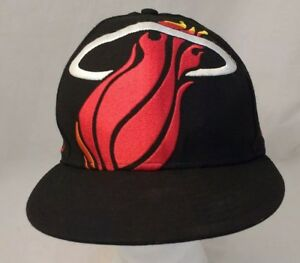 MIAMI-HEAT-NEW-ERA-59FIFTY-HARDWOOD-CLASSICS-BLACK-WOOL-NBA-FITTED-7-1-2-HAT-CAP