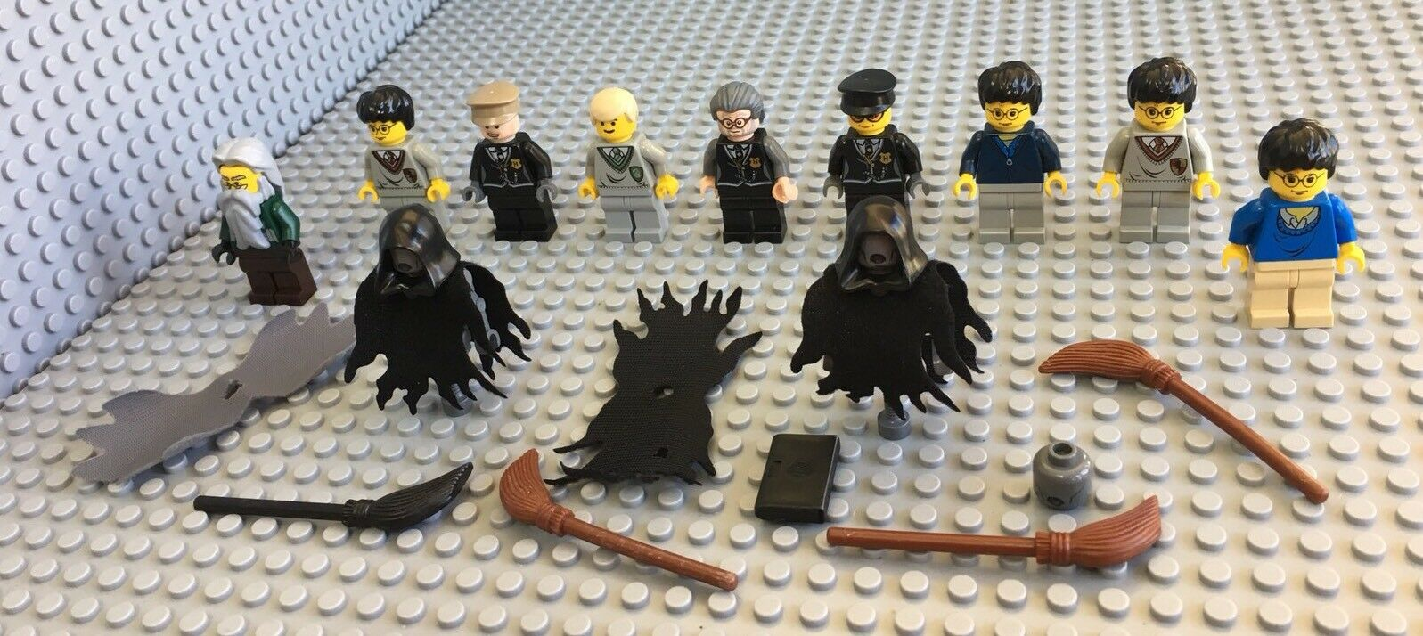 LEGO 9 HARRY POTTER Mini Figures Accessoires MIXED figures Poudlard
