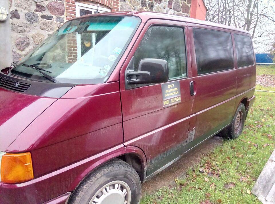 VW, Caravelle, 2,4 D Allrounder Kassevogn