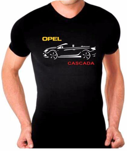 Opel Cascada T-shirt maglia auto tshirt car maglietta