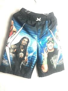 Bautista Shorts Cena Large 12 Reigns Swim Size 10 Wwe Boys pZ01x
