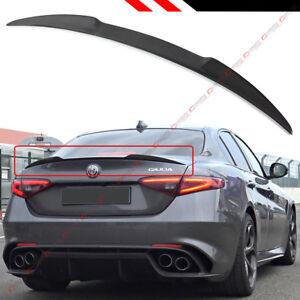 For 2017 18 Alfa Romeo Giulia Quadrifoglio Style Carbon Fiber Trunk Spoiler Wing Ebay