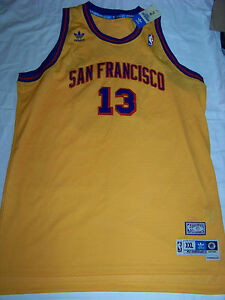 new style 2ca80 8e27e Details about Adidas Soul Swingman San Francisco Warriors Golden State #13  Wilt Chamberlain