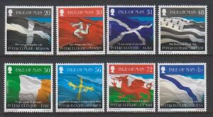 Isle-of-Man-2008-Flags-of-Celtic-Countries-set-MNH-SG-1426-33