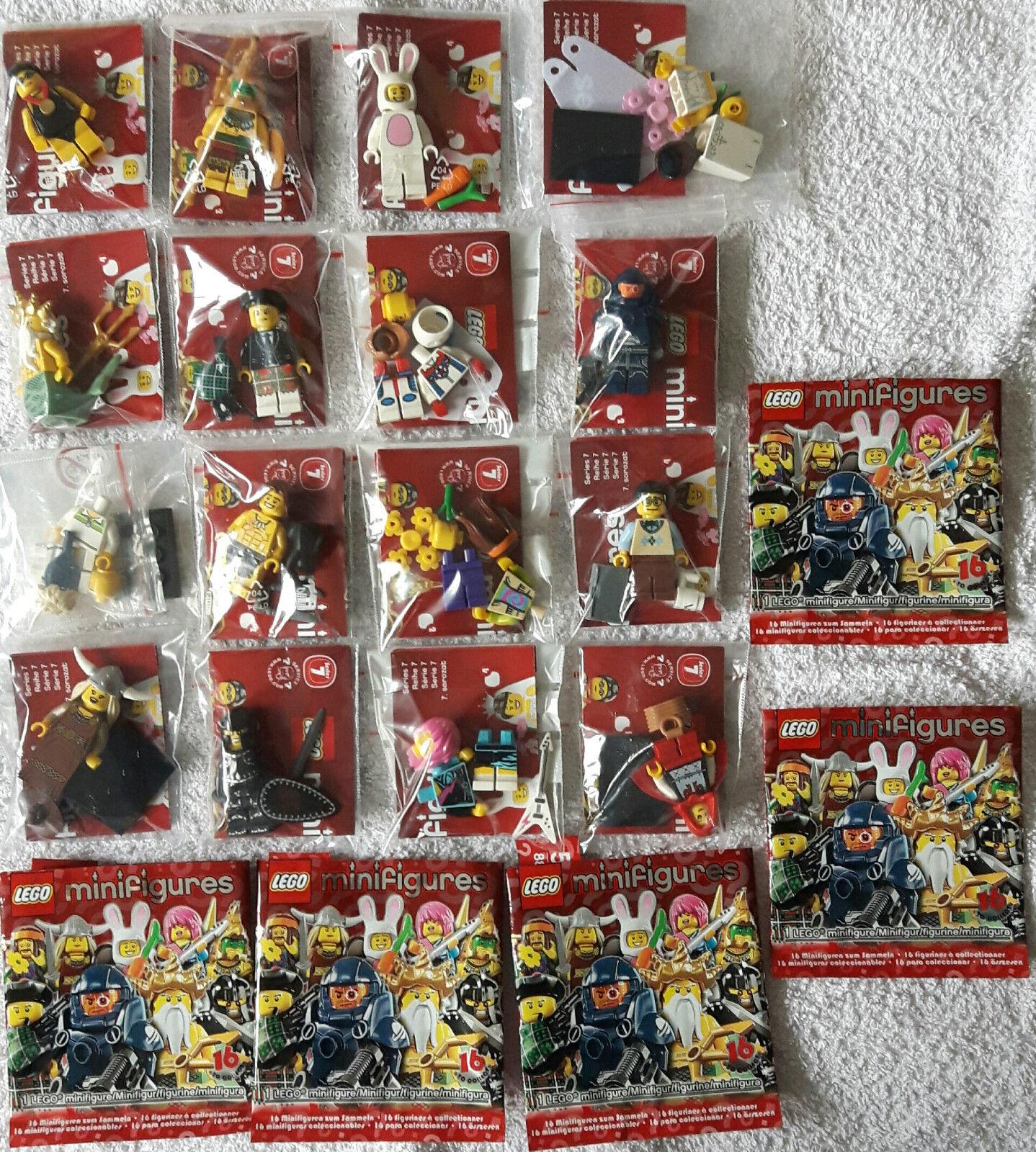 Lego 8831 Serie Mini cifra  7 Completo Set Tutti 16 cifra Nuovo & Mai Usato  fino al 70% di sconto