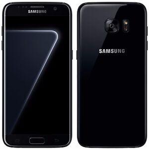 samsung galaxy s7 edge 128gb sm g935fd black pearl. Black Bedroom Furniture Sets. Home Design Ideas