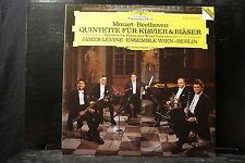 Mozart/Beethoven - Quintette für Klavier & Bläser / Levine/Ensemble Wien-Berlin