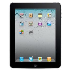 Apple iPad 1st Gen. 16GB, Wi-Fi + Cellular (Unlocked), 9.7in - Black - VGC