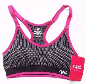 77897d1508446 NEW Women s Ryka Seamless Athletic Padded Sports Bra Size   SMALL