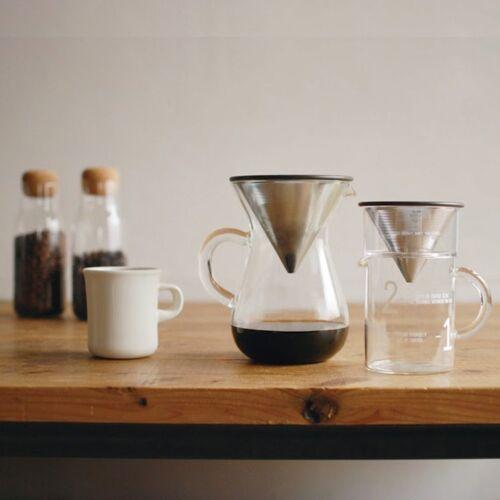 KINTO Coffee Jug Set SCS-02-CJ-ST 300ml 0.3L Filter Brewer Holder 27651 JAPAN