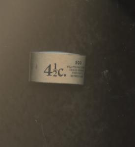 ONE 1939 Full Coil of 500 4 1/2c Scott 844 WHITE HOUSE STAMP ROLL