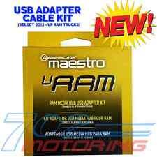 NEW iDATALINK MAESTRO ACC-USB-RAM USB PORT CABLE / SELECT 2013-UP RAM TRUCKS