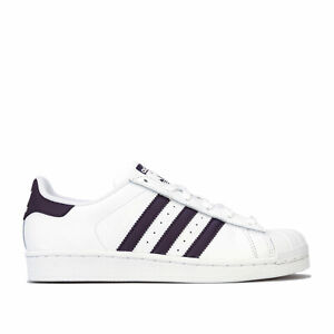 Détails sur adidas Originals Baskets Superstar Blanc Femme