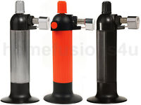 GAS BUTANE REFILLABLE BLOW TORCH SOLDERING WELDING BRULLE COOKING CATERING GUNS