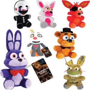 FNAF-Five-Nights-At-Freddy-039-s-Sanshee-Plushie-Toy-7-034-Plush-Bear-Foxy-Kid-Gift-Toy