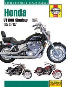 haynes repair manual honda shadow ace vt1100c2 vt1100c2 2 rh ebay com 2001 honda shadow ace 750 repair manual Honda Shadow Ace Tourer