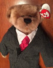 """Ty Attic Treasures """"Dressed For Success"""" Bear Plush Fully Jointed William W/tag"""