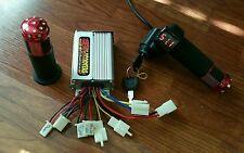Razor MX500 MX650 48 Volt EcoSmart Metro Throttle & Controller Overvolt Kit