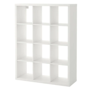 Ikea Kallax Regal In Weiß 112x147cm Raumteiler Ebay