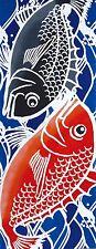Japanese traditional towel TENUGUI COTTON  TAI FISH MADE IN JAPAN