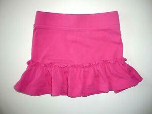 Süßer Jersey Rock Mit Volant In Gr.74/80 Pink Girls' Clothing (newborn-5t)