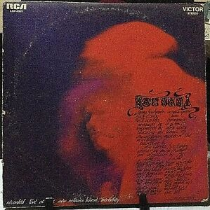 HOT-TUNA-Self-Titled-Debut-Album-Released-1970-Vinyl-Record-Collection-US-press