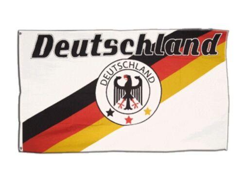Bandiera fanflagge Germania 8 BANDIERA CALCIO hissflagge 90x150cm
