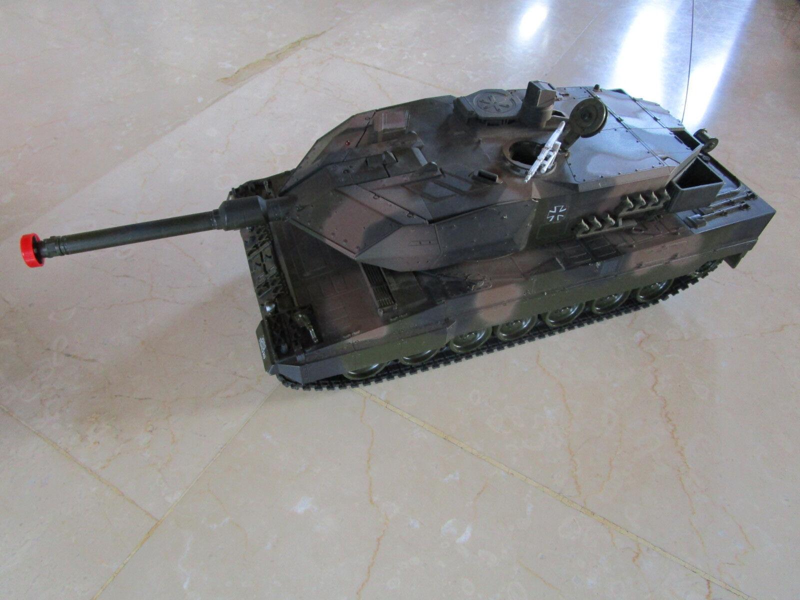 Akademy R C tanque leopard 2a5, 1 25 scale, con control remoto, en OVP coleccionista, fans
