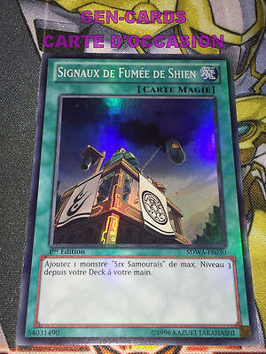 "VF//SUPER RARE Yu-Gi-Oh /""Signaux de Fumée de Shien/"" SDWA-FR030"