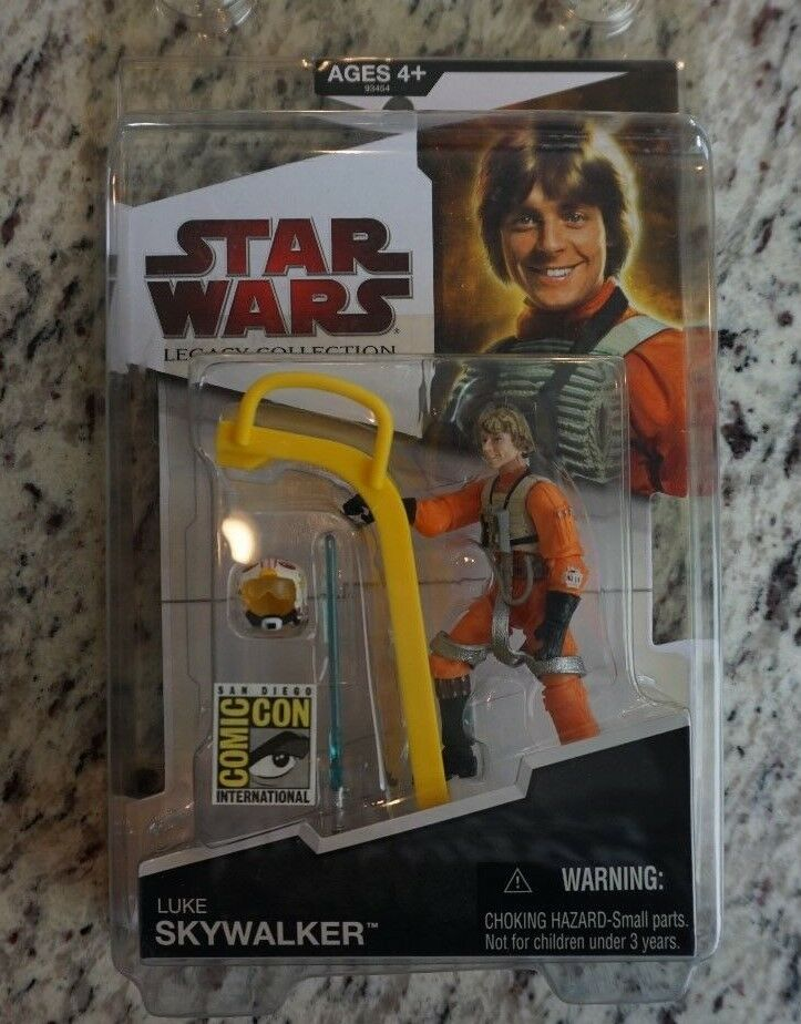 Luke Skywalker X-Wing Gear 2009 STAR WARS The Legacy Collection SDCC Exclusive