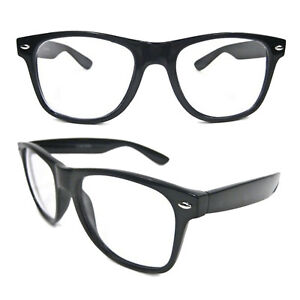 Adult Men's Women's Buddy Holly Nerd Geek Emo Hipster Cosplay Costume Glasses