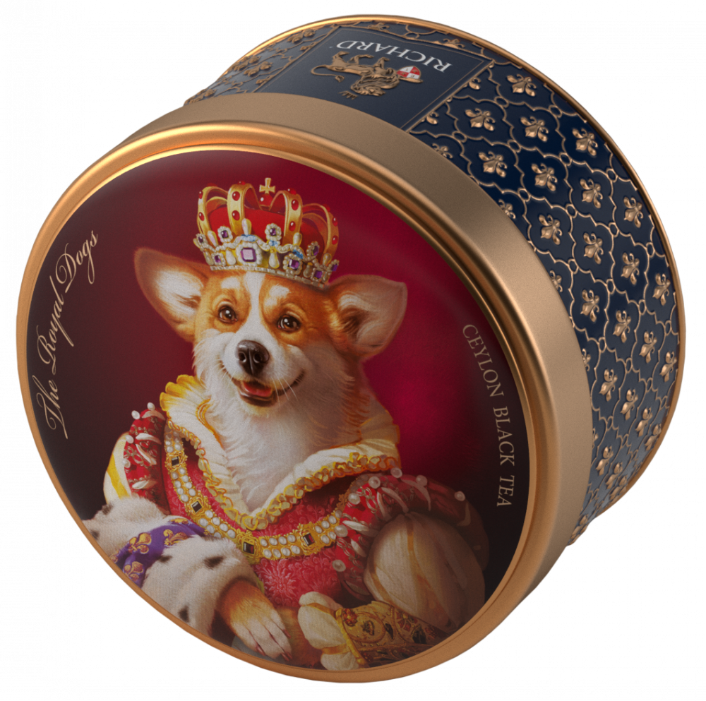 Corgi Richard tea the royal dogs Corgi Gift box Trinket Limited Edition NEW