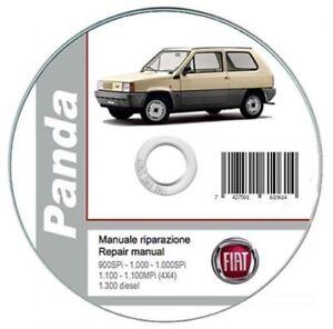 fiat panda 1986 2003 workshop manual repair manual ebay rh ebay co uk