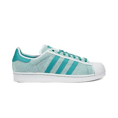 adidas Superstar Adicolor shoes turquoise white