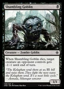 4x-Goblin-Tambalea-Shambling-goblin-MTG-MAGIC-CN2-Eng