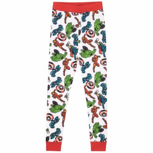 Avengers Snuggle Fit PyjamasBoys Marvel Avengers PjsAvengers Pyjama Set