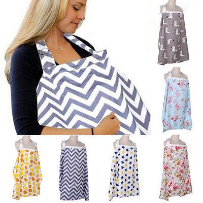 Mum Breastfeeding Nursing Cover Up Baby Infant Nursing Scarf Cotton Blanket