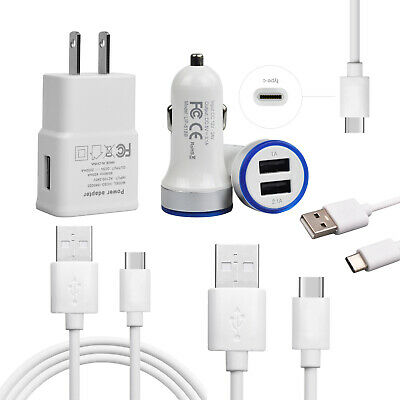 Fast Charging Wall Car Phone Charger Cord For Samsung Galaxy S9 S8 S10 Note 9 8 Ebay