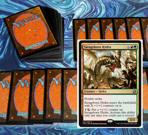 mtg-RED-GREEN-GRUUL-RAMP-DECK-Magic-the-Gathering-rares-60-cards-atarka-omnath