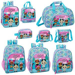 LOL-Surprise-Girls-Backpack-School-Bag-Should-Messenger-Lunch-Bag-HEART-OFFICIAL