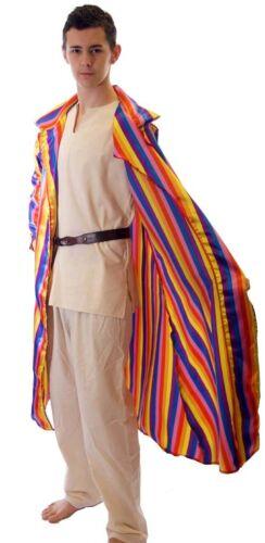 JOSEPH Technicolour Dream coat LONG COLOURFUL JACKET Fancy Dress-Pride-SML-4XL