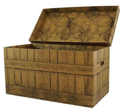 Aufbewahrungsbox Box EXTREM GROSS  Truhe Karton Kiste BRAUN XXXL GER GPSK2764