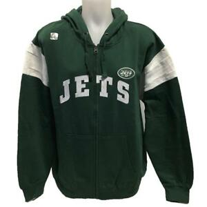 hot sale online a0365 832c5 Details about NFL Men's New York Jets Zipper Hoody Sweatshirt XL 3XL  Football Hoodie Green