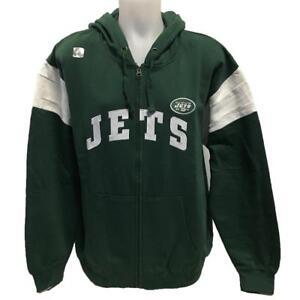 hot sale online 9da34 bb81f Details about NFL Men's New York Jets Zipper Hoody Sweatshirt XL 3XL  Football Hoodie Green
