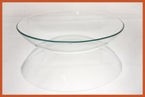 "14"" Bowl Clear Glass 1/8"
