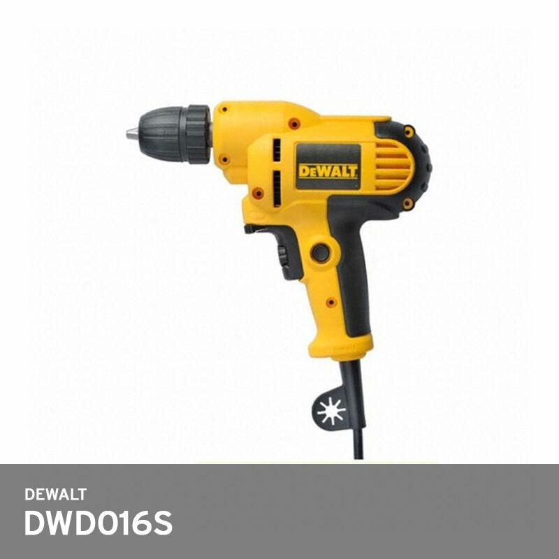 DeWalt DWD016S Professiona Electric Code Rotary Drill 380W 10mm Key 3lb AC 220V