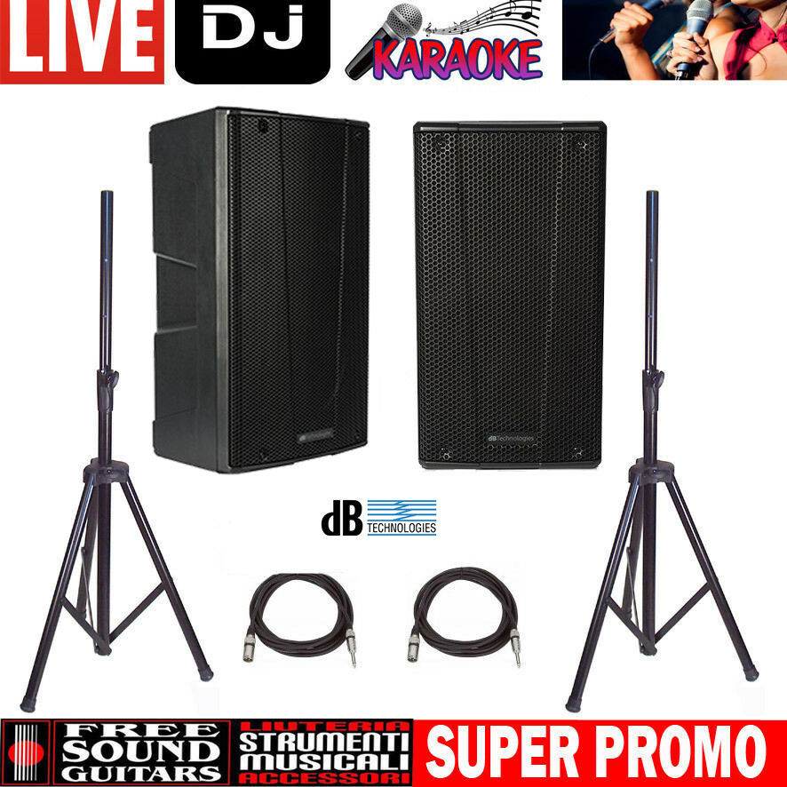 DB TECHNOLOGIES B-Hype 10 IMPIANTO AUDIO PROFESSIONALE PER LIVE DJ KARAOKE
